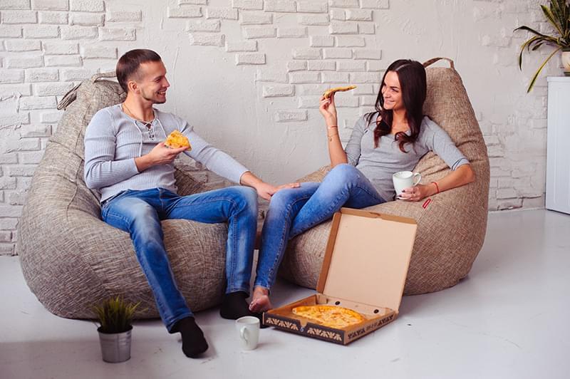 Виды бескаркасной мебели